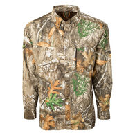 Drake Waterfowl Men's Mesh-Back Flyweight Long-Sleeve Shirt with Agion Active XL