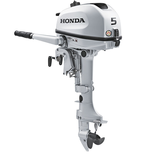 "Honda BF5 Portable Outboard Motor, 5 HP, 15"" Shaft"