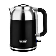 Kalorik 1.7 Liter Retro Electric Kettle, Black