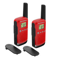 Motorola Solutions TALKABOUT T110 Two-Way Radio Dual-Pack, 15-Mile