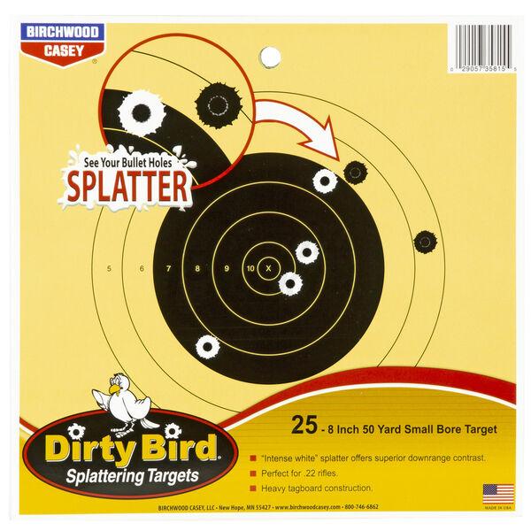 """Birchwood Casey Dirty Bird Small Bore Bullseye Target, 12"""""""