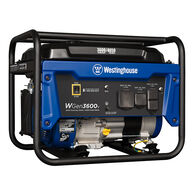 Westinghouse WGen3600V 4,650/3,600 Watt Gas RV-Ready Portable Generator