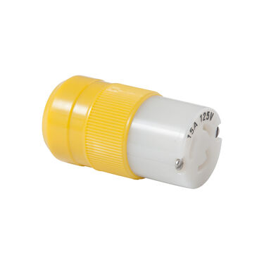 Marinco 15-Amp 125V Locking Female Connector