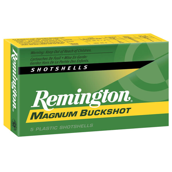 "Remington Express Magnum Buckshot, 12-ga., 2-3/4"", 12 pellets"