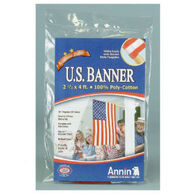 US American Banner Flag, 2-1/2' x 4'