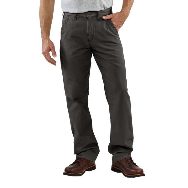 Carhartt Men's Canvas Khaki Relaxed-Fit Pant