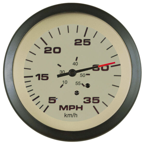 "Sierra Sahara 3"" Speedometer, 35 MPH"