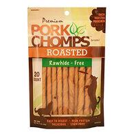 Scott Pet Premium Pork Chomps Mini Twists, Roasted, 20-Pack