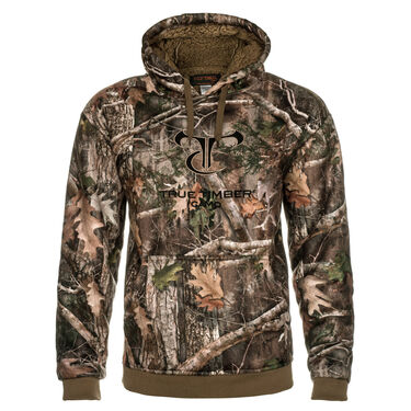 TrueTimber Men's High Pile Fleece Pullover Hoodie