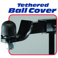"""Fastway Tethered Hitch Ball Cover, 2"""""""