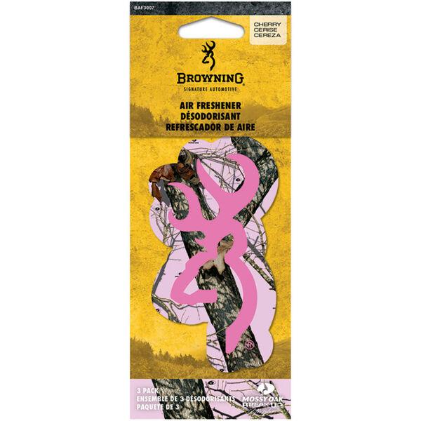 Browning Buckmark Logo Air Fresheners – Fresh Cherry Scent, 3-Pack