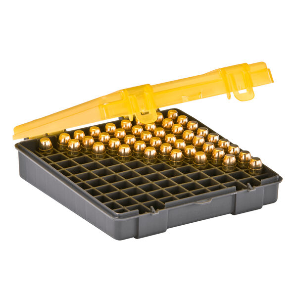 Plano 100-Round XL Handgun Ammo Case, .45 ACP/.40 S&W/10mm