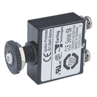 Blue Sea Systems Push-Button Reset-Only Screw Terminal Circuit Breaker, 15 Amps