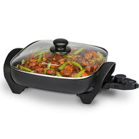 """Toastmaster 11"""" Electric Skillet with Lid"""