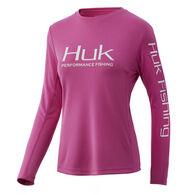 HUK Women's Icon X Long-Sleeve Tee