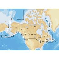 Navionics+ Cartography, Canada And Alaska