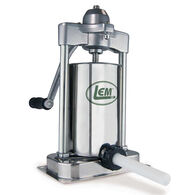 LEM 5 lb. Stainless Steel Vertical Sausage Stuffer