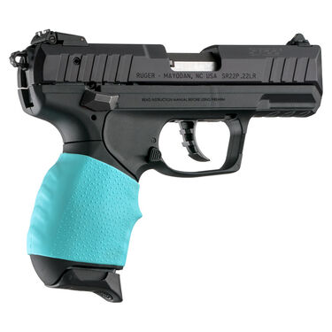 Hogue HandAll Jr. Small Size Pistol Grip Sleeve, Aqua