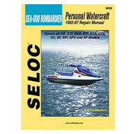 Seloc PWC Engine Maintenance And Repair Manual, Sea Doo & Bombardier '92-'97