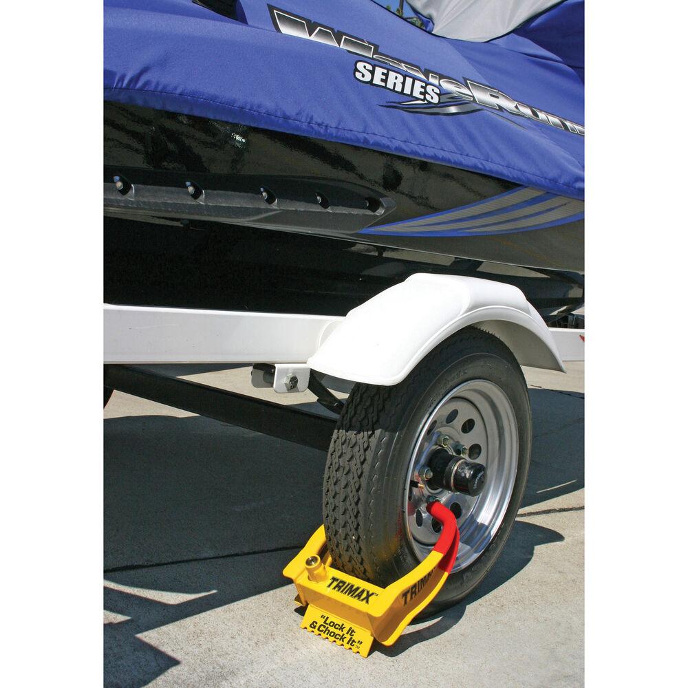 Trailer Wheel Chocks >> Trimax Tcl65 Trailer Wheel Chock Lock Gander Outdoors