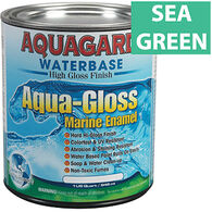 Aquagard Aqua-Gloss Waterbase Enamel, Quart, Sea Green
