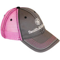 Smith & Wesson Two-Tone Women's Cap, Gray/Pink