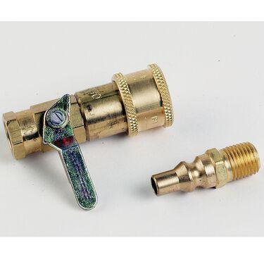 Propane/Natural Gas Connector Kit w/ Shutoff Valve