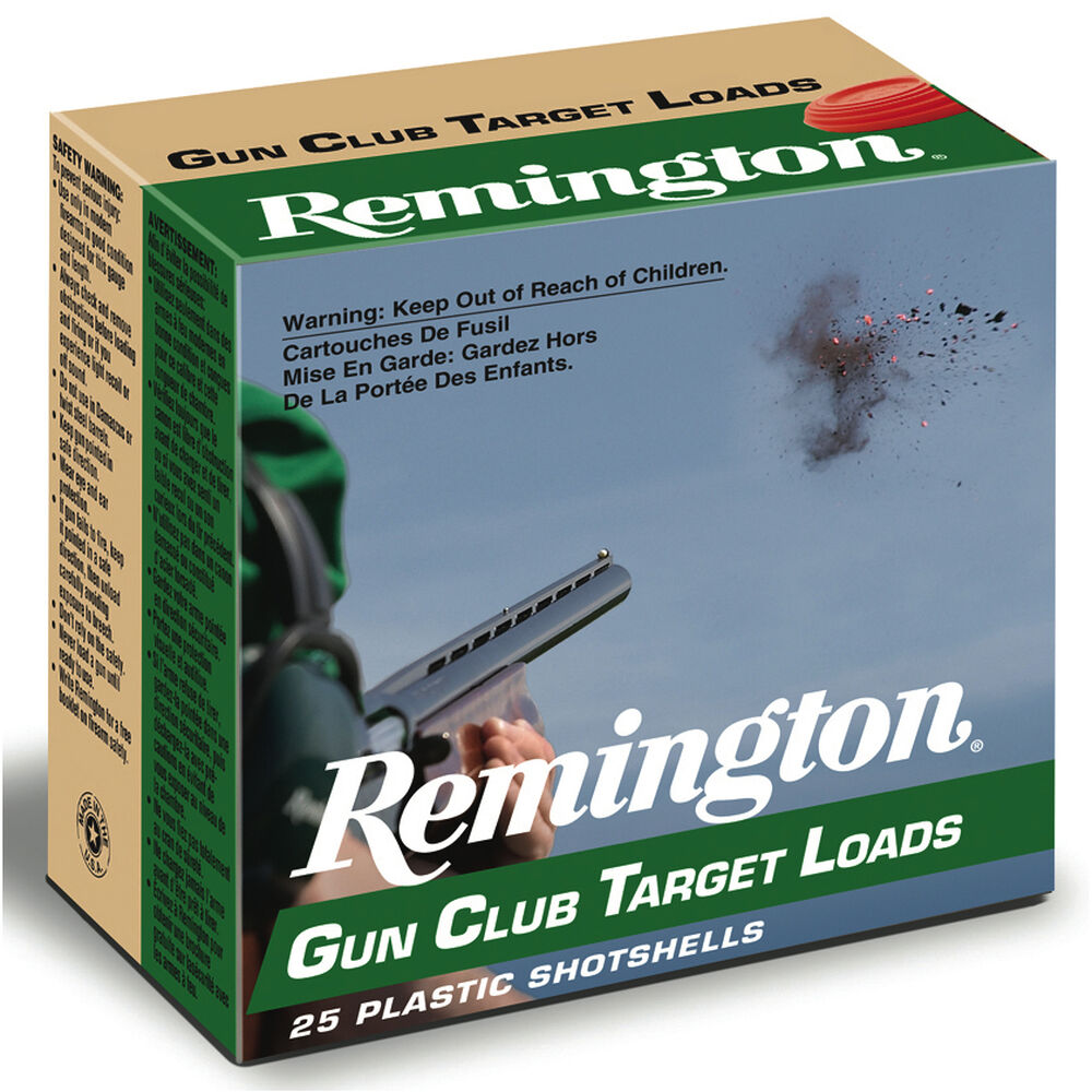 Incredible Remington Gun Club Target Loads 12 Ga 2 3 4 1 1 8 Oz 7 5 Download Free Architecture Designs Scobabritishbridgeorg