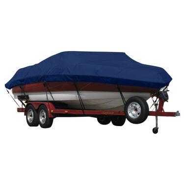 Exact Fit Covermate Sunbrella Boat Cover for Tracker Pro Deep V-17 Sc Pro Deep V-17 Single Console W/Port Motor Guide Trolling Motor O/B
