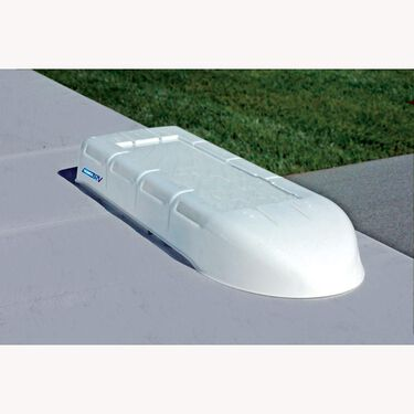 RV Refrigerator Vent Cover, White