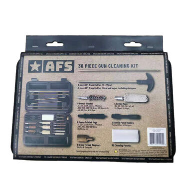 AFS 30 Pc. Gun Cleaning Kit