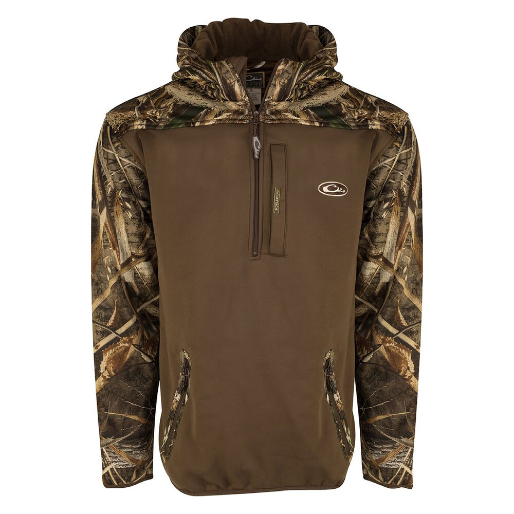 cheapest price price remains stable new varieties Drake Waterfowl Men's MST Endurance Softshell Quarter-Zip Hoodie