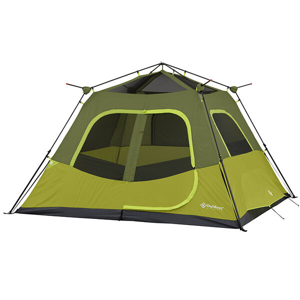 Outdoor Products 6-Person Instant Cabin Tent with Extended Eave