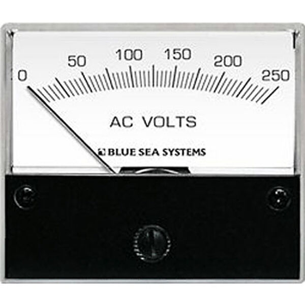 Blue Sea AC Analog Voltmeter, 0-150V