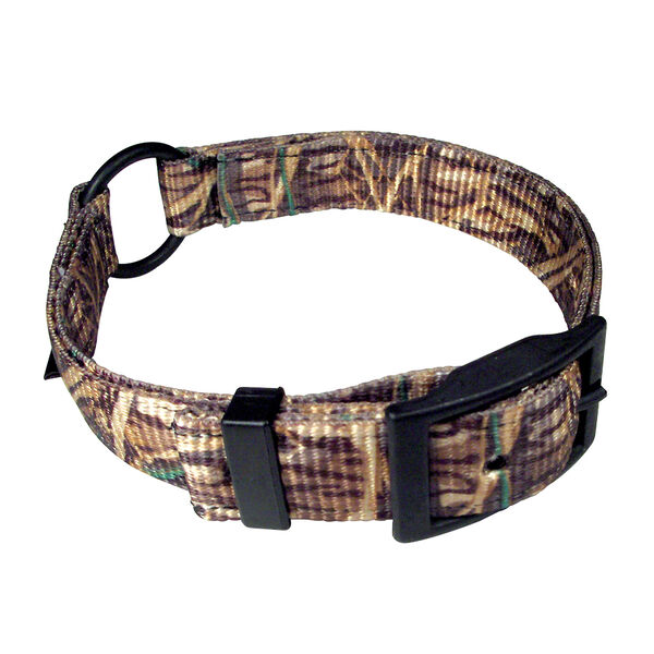 "Scott Pet Mossy Oak Shadow Grass Camo Center Ring Collar, 1"" x 18"""