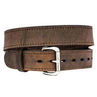 Versacarry Distressed Brown Double Ply Leather Belt, 36""