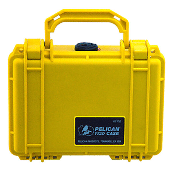 Pelican 1120 Case With Pick 'N Pluck Foam, Yellow