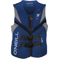 O'Neill Men's Reactor Life Jacket - Pacific Blue - XL