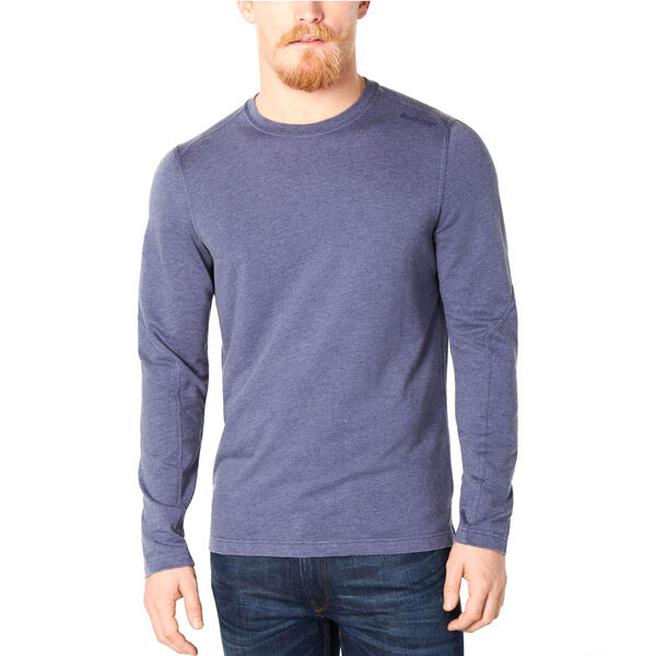 Hi-Tec Men's Gourd French Terry Long-Sleeve Crew Tee