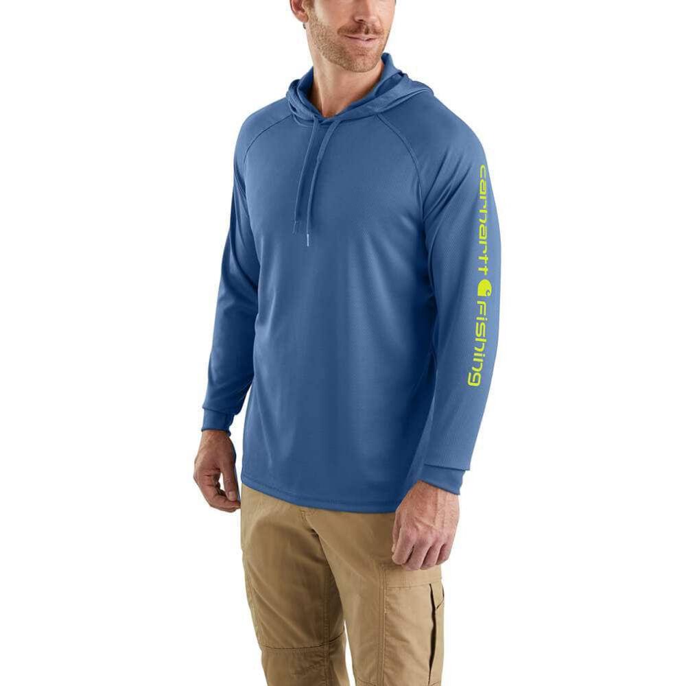 8bf38e4c Carhartt Men's Force Fishing Graphic Hooded T-Shirt | Gander Outdoors