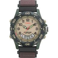 Timex Expedition Unisex Camper Watch, Green/Brown/Black