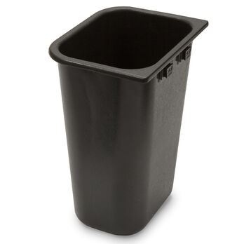 Innovative Hang-It Mate Trash Bin, Black