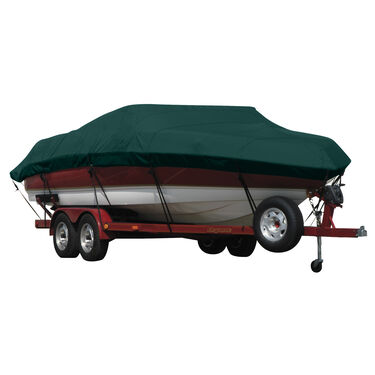 Exact Fit Covermate Sunbrella Boat Cover for Tracker Avalanche Dc  Avalanche Dual Console W/Port Trolling Motor O/B