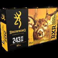 Browning BXR Rapid Expansion Matrix Tip Deer Rifle Ammunition