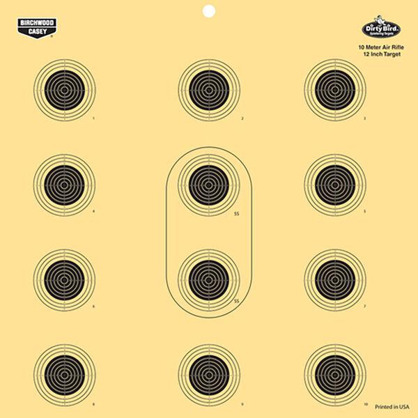"Birchwood Casey Dirty Bird Air Rifle Target, 12"""