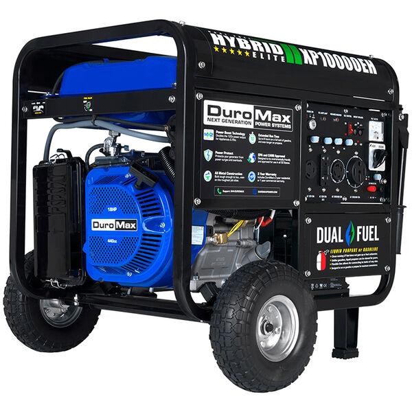 DuroMax Dual Fuel 10,000-Watt Electric Start Generator