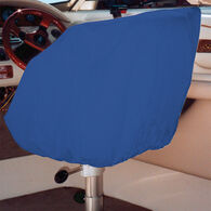 "Ripstop Polyester Helm/Bucket/Fixed Back Seat Cover, Navy Blue (24""H x 24""W x 22""D)"