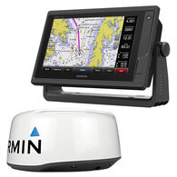 Garmin GPSMAP 942xs Touchscreen Chartplotter/Sonar With GMR18 HD + Radar