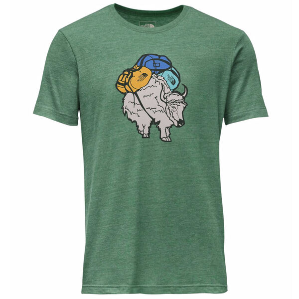 The North Face Men's Yak Pack Tri-Blend Short-Sleeve Tee