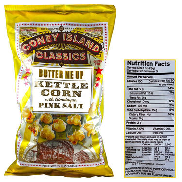 Coney Island Classics Butter Me Up Kettle Corn